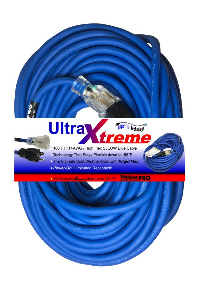 100FT UltraXtreme Extension Cord WBEXT14100UX